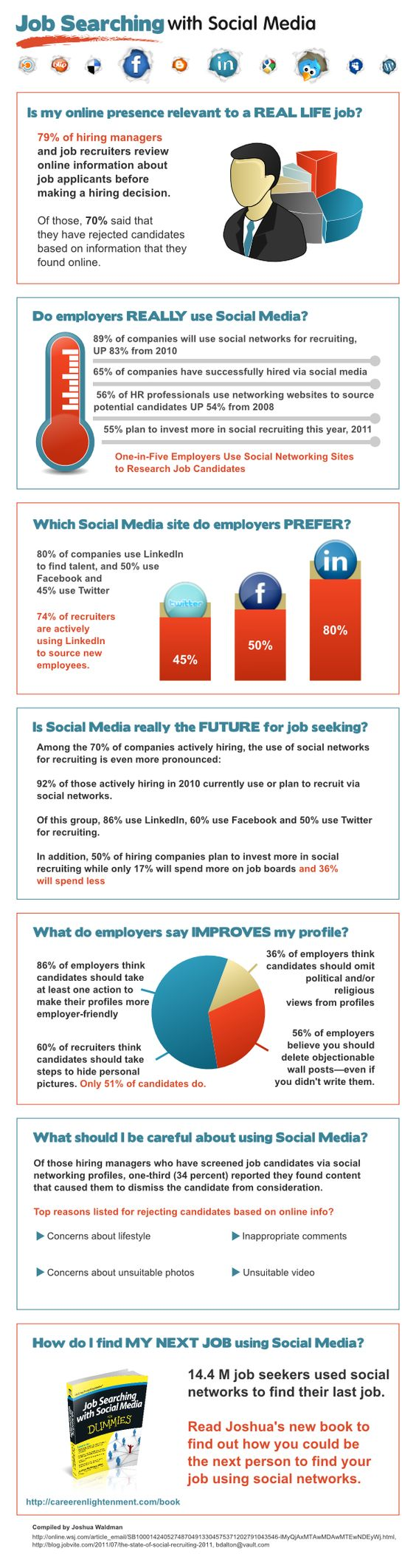 Job Searching with Social Media