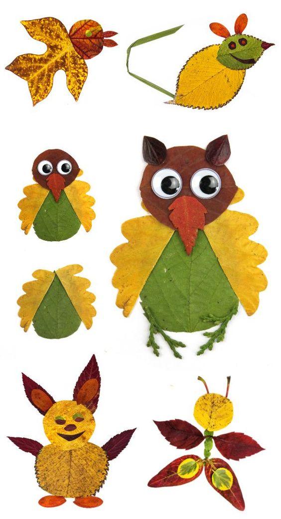 Sep 7, 2019 - Turn fallen leaves into beautiful works of art and make leaf animal collages! LEAF CRAFTS FOR KIDS