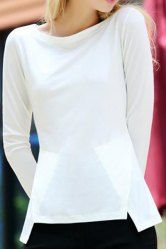 Long Sleeve Shirts And T-Shirts | Cheap White Long Sleeve Shirt For Women Online…