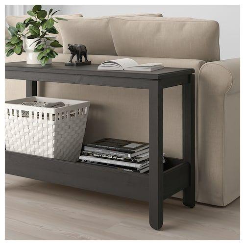 Tavolino Da Divano Ikea.Havsta Tavolo Consolle Marrone Scuro Nel 2020 Tavolo Consolle