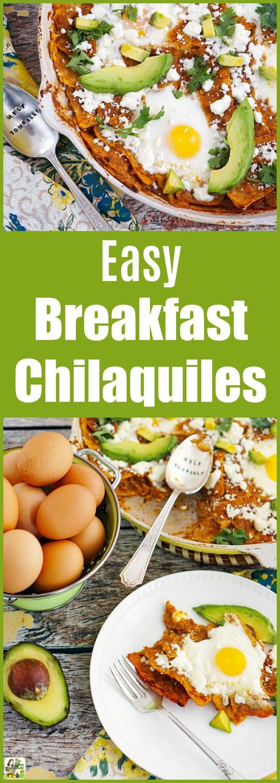 How to Make an Easy Breakfast Chilaquiles Recipe with Eggs