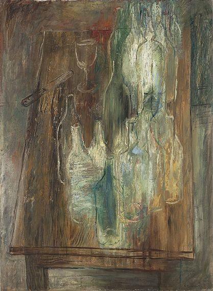 """""""Les Bouteilles"""" by Yuri Annenkov"""