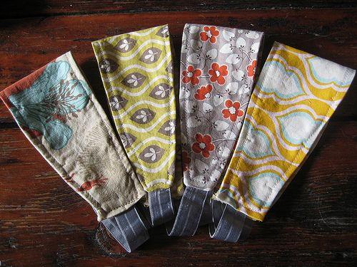 Recycled fabric headbands