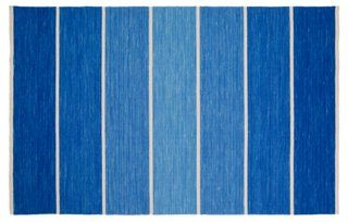 8'x11' Nord Rug, Blue