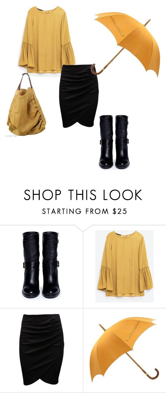 """That's bananas!"" by dannie-trudeau ❤ liked on Polyvore featuring Jimmy Choo, Hermès and Marni"