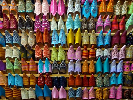 Babouches marroquinos