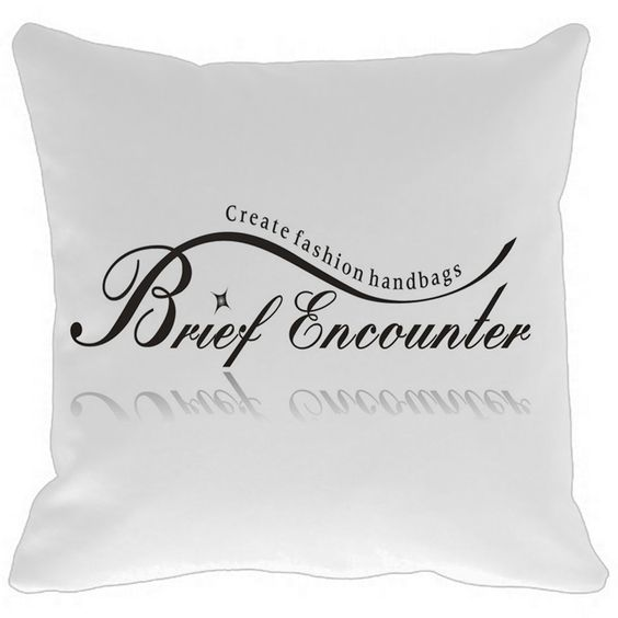 Brief Encounter and Create fashion handbags Pillow Case Sofa Cusion #AlphabetPillow #SofaCushion #CustomPillowcase #CreateFashion https://www.amazon.com/Encounter-Create-fashion-handbags-Pillow/dp/B01I1AIUCU?ie=UTF8&*Version*=1&*entries*=0