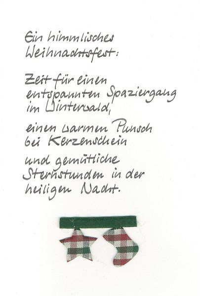 Weihnachtskarte Winterwald von Kartenfreude auf DaWanda.com