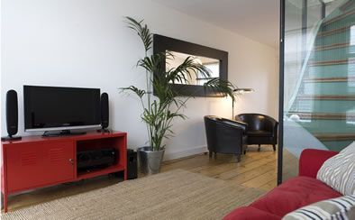 Kerkstraat Apartment. This stunning 2 floor apartment in Amsterdam's canal belt is chic and stylish. In a traditional Amsterdam building with beautiful views over Amstelveld Square and the Amstelkerk one of the city's most famous buildings.