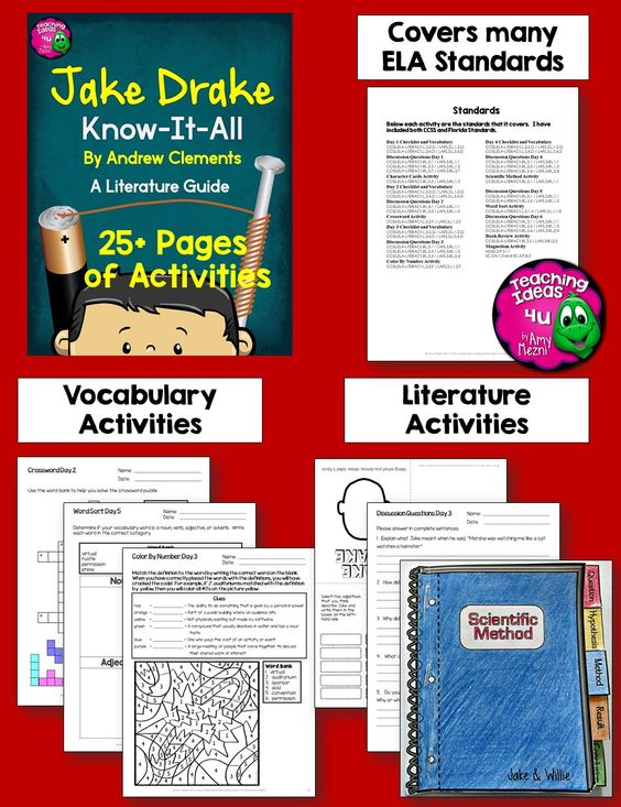 jake drake know it all by clements novel study teaching Tuck Everlasting Book Tuck Everlasting Worksheets and Answers