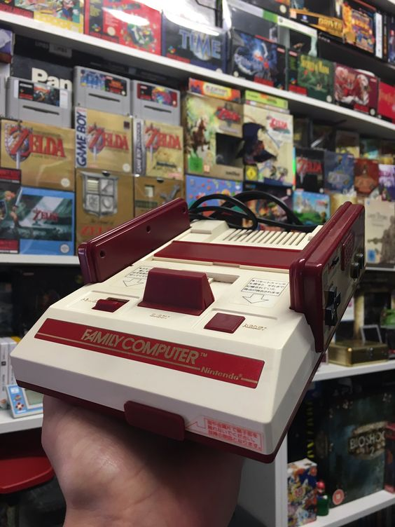Today in 1983 the #Nintendo Family Computer (Famicom) was released in Japan which would become the #NES in the West!