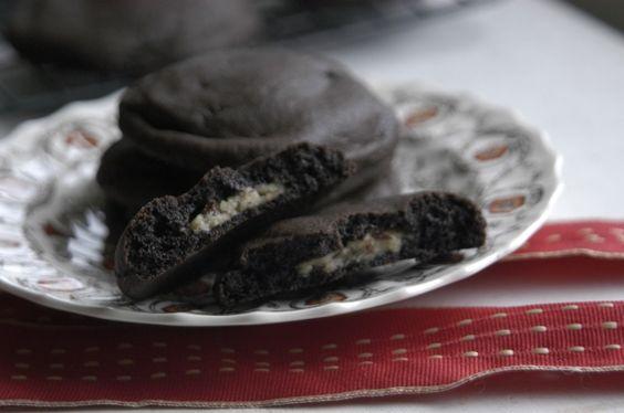 cookie dough stuff brownie cookie
