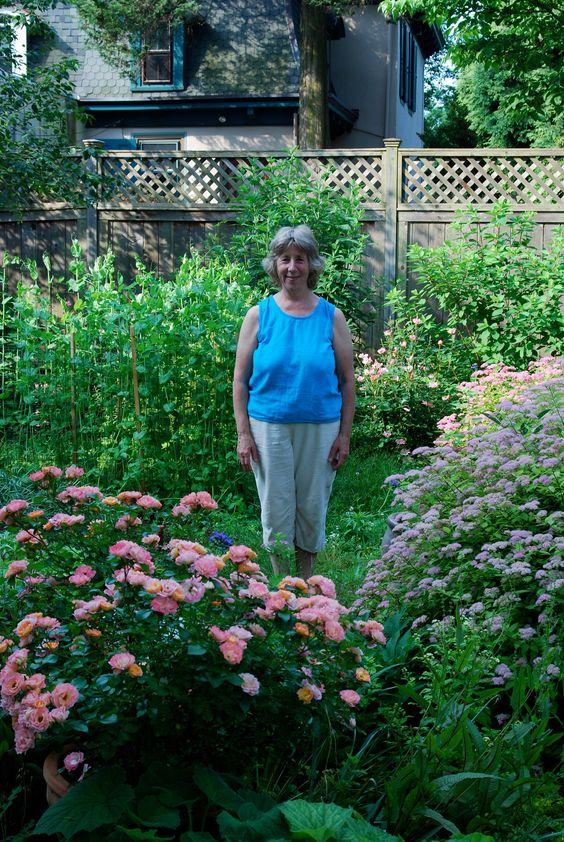 My neighbor, Susan, in her Mt. Airy garden   My Mt. Airy ...