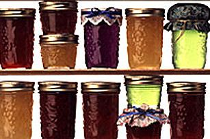 Spiced Concord Grape Jam.  Ripe concord grapes, sugar and fruit pectin are cooked briefly to produce gleaming jars of homemade grape jam.  Spiced just right with cinnamon and cloves, this Spiced Concord Grape Jam is easy and delicious.