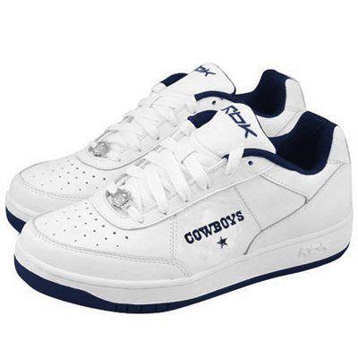 dallas cowboys tennis shoes reebok dallas cowboys white