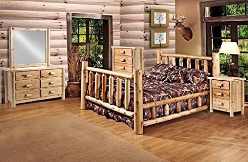 New Rustic 5 Pc Pine Log Bedroom Suite Rustic Bed King Online Shopping Fayafashionable In 2020 Log Bedroom Sets Rustic Bedroom Furniture Rustic Bedroom Furniture Sets