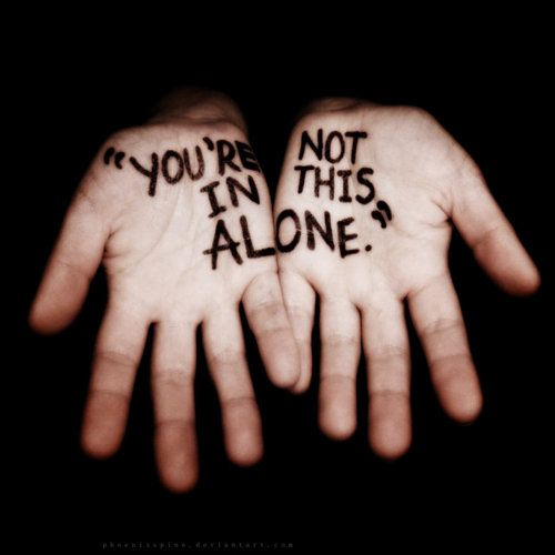When you're here, we promise you'll never be alone.
