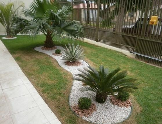 Como Fazer Um Jardim Com Pedras 10 Passos Umcomo In 2020 Garten Palmen Garten Garten Ideen