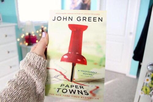 #book #papertowns #JohnGreen    @nylah_baller