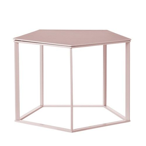 http://www.outthereinteriors.com/shop-by-room/lounge-furniture/laid-back-nordic-living/bloomingville-pentagonal-coffee-table-in-pink.html