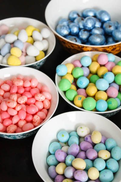 Easter candy! Lots of it...