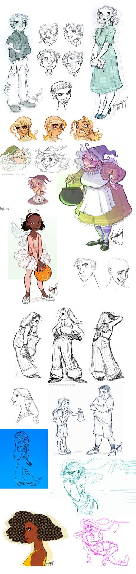 ✧ #characterconcepts ✧ Oodles of Doodles 7 by Britt315