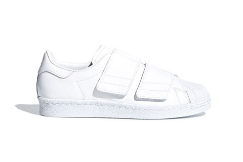 adidas Originals Adds Shiny Velcro Straps to the Superstar 80s ...