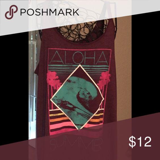 Aloha t-shirt Aloha t-shirt Mossimo Supply Co. Tops Tank Tops
