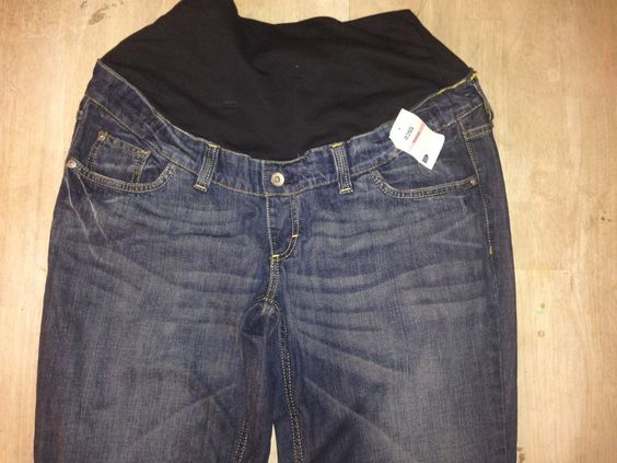 H & M Mama Maternity Jeans Womens Tall inseam 31