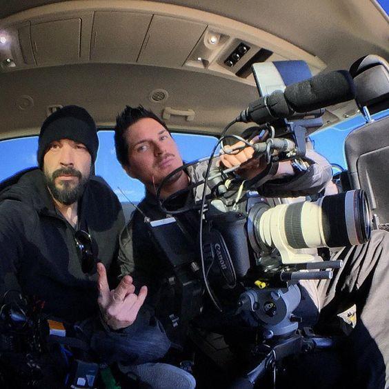 Awesome day #filming #ghostadventures so far :) @Zak_Bagans @BillyTolley @jaywasley