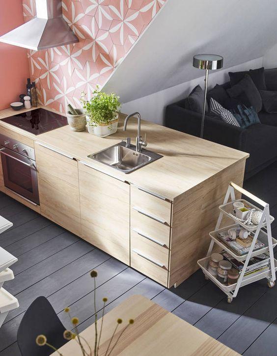 Cuisine Ikea Les Plus Beaux Modeles Du Geant Suedois Elle Decoration Ilot De Cuisine Ikea Ikea Decoration Cuisine Moderne