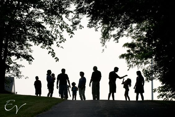 LARGE families. Families create extended families by bringing aging relatives into their homes