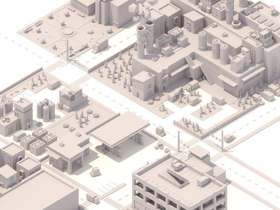 City #1 on Behance