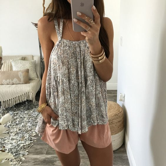 Blossom Tie Back Top
