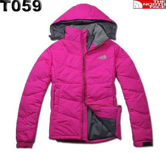Cheap For North Face Women'sTriclimate T059 Pink Down Jacket ...