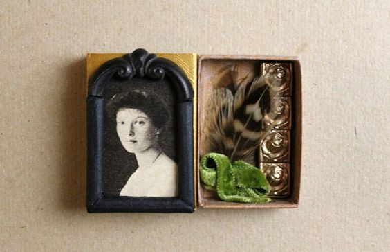 Shadowboxes, altars, shrines. Love this idea! Would be a good use of miniatures.
