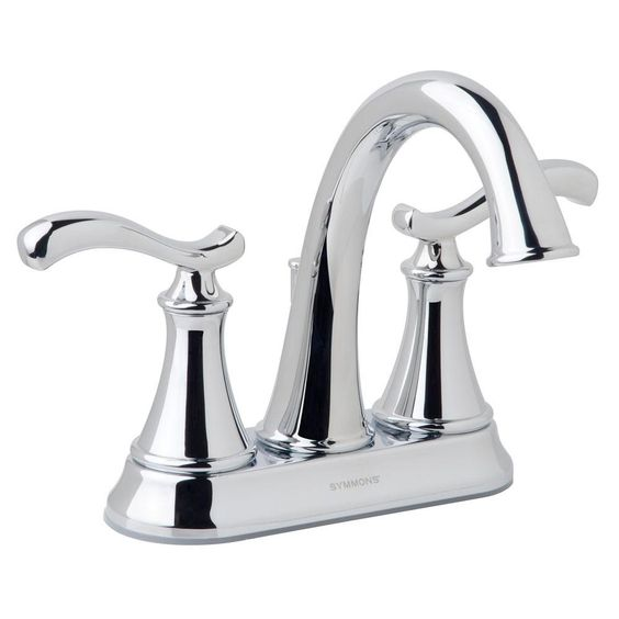 "NOT AVAILABLE IN 8"", I CHECKED THE SYMMONS WEBSITE! - this is the matching 4"" faucet to shower set - try to find in 8"" spread  Symmons Sophia 4 in. Centerset 2-Handle High Arc Bathroom Faucet in Chrome-SLC-8112-RP - The Home Depot"