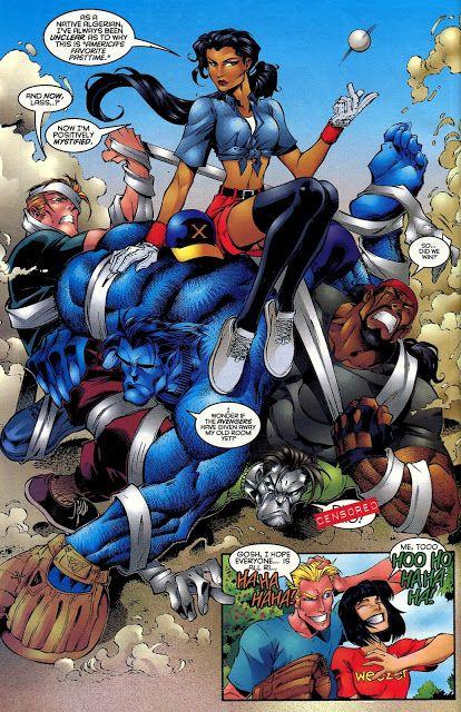 Beast, X-Men vs Generation X by Joe Madureira