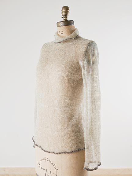 八布 (habu), Fine Mohair Pullover