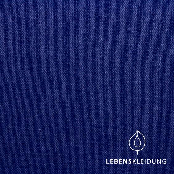 Bio-Canvas schwer (327 g m²) Blau Bio-Stoffe Pinterest - dunkelblaue kche