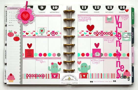 Sweet Things Collection: Home Decor   Planner Fun with Monique