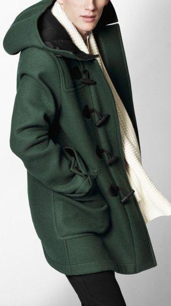 burberry duffle coat with detachable hood