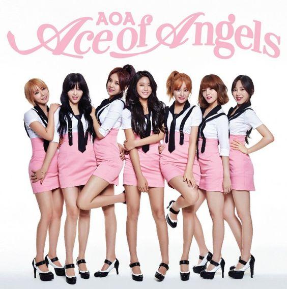 AOA1stアルバムの画像