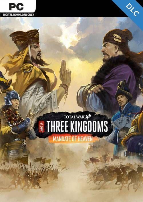 Total War Three Kingdoms Pc Mandate Of Heaven Dlc Digital