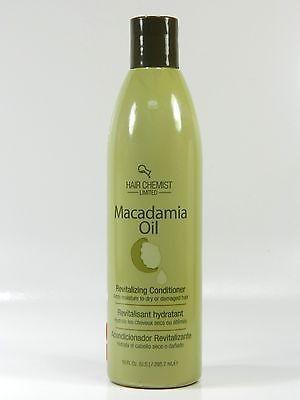 HAIR CHEMIST MACADAMIA OIL REVITALIZING CONDITIONER 10.oz free shipping