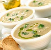 ... white bean and white bean soup white bean soup with chive oil recipes