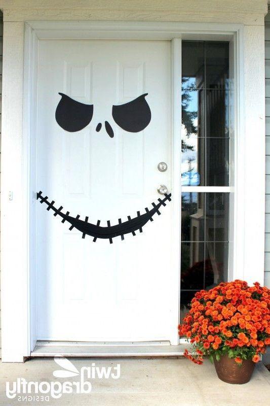 Decoracion Para Halloween 2016 60 Fotos E Ideas Baratas Decoraideas Puertas Decoradas Para Halloween Decoracion Halloween Decoraciones De Halloween Caseras