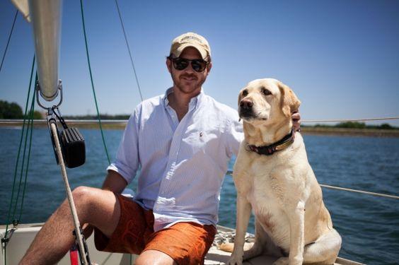 Clemson Sailing Club President Ben Burdette