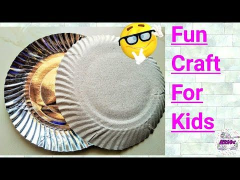 Diy Best Out Of Waste Paper Plate Craft Easy Paper Plate Craft
