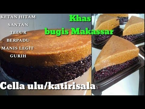 Resep Cella Ulu Katirisala Khas Bugis Makassar Youtube Makanan Kue Resep Kue